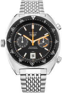 Stainless Steel Autavia Chronograph Automatic