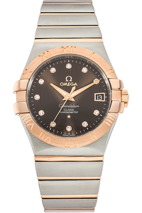18K Rose Gold and Stainless Steel Constellation Co-Axial Automatic