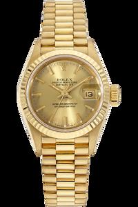 18K Yellow Gold Datejust Automatic Circa 1987