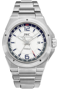 Stainless Steel Ingenieur Dual Time Automatic