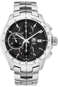 Stainless Steel Link Calibre 16 Chronograph Automatic