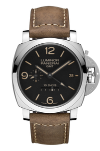 Luminor 1950 10 days GMT Automatic Acciaio-44 mm