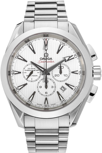 Stainless Steel Seamaster Aqua Terra Co-Axial Chronograph Automatic