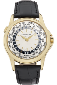 18K Yellow Gold World Time Automatic Reference 5110