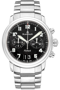 Leman Flyback Chronograph Grande Date Stainless Steel