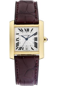 18K Yellow Gold Tank Francaise Automatic