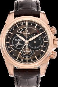 De Ville Chronoscope Co-Axial GMT Chronograph Rose Gold Automatic