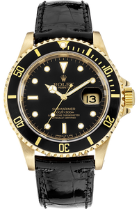 18K Yellow Gold Submariner Automatic