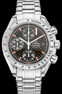 Speedmaster Date Michael Schumacher Limited Edition Stainless Steel Automatic