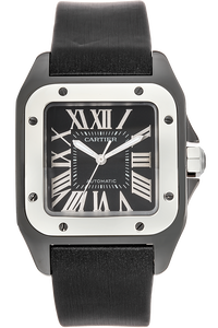 Santos 100 Titanium and Stainless Steel Automatic