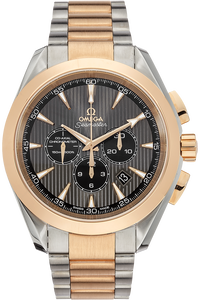 Seamaster Aqua Terra Chronograph Rose Gold and Stainless Steel Automatic