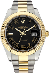 18K Yellow Gold and Stainless Steel Datejust II Automatic