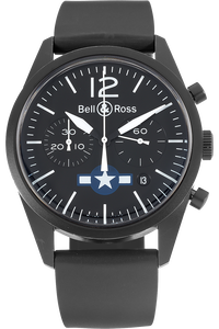 BR126 Air Force Insignia PVD Stainless Steel Automatic
