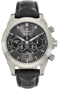 Stainless Steel De Ville Chronoscope Co-Axial 4-Counters Chronograph Automatic
