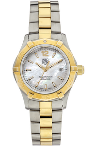 18K Yellow Gold and Stainless Steel Aquaracer Quartz