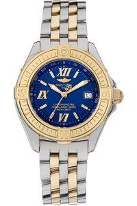 18K Yellow Gold and Stainless Steel B-Class Quartz