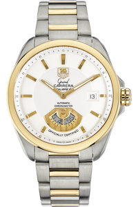 18K Yellow Gold and Stainless Steel Grand Carerra Calibre 6 Automatic