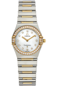 18K Yellow Gold and Stainless  Steel Constellation My Choice Quartz