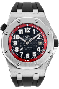 Stainless Steel Royal Oak Offshore Red Scuba Automatic Special Edition