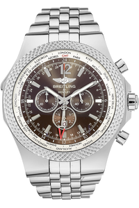 Stainless Steel Bentley GMT Automatic Special Edition