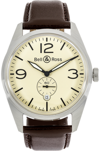Stainless Steel BR 123 Vintage Automatic