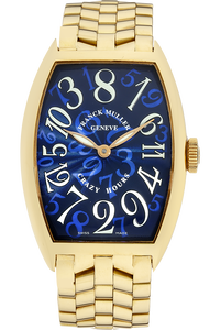 Crazy Hours Yellow Gold Automatic