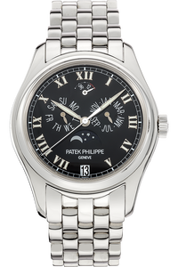 18K White Gold Annual Calendar Automatic Reference 5036