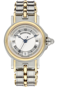 18K Yellow Gold and Stainless Steel Marine Automatic