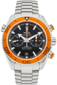 Planet Ocean Co-Axial Chronograph Stainless Steel Automatic