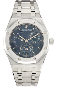 Royal Oak Dual Time Power Reserve  Stainless Steel Automatic