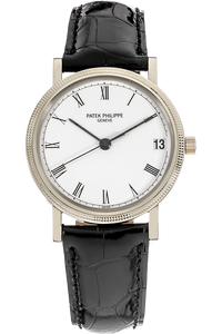 Calatrava Reference 3802 White Gold Automatic