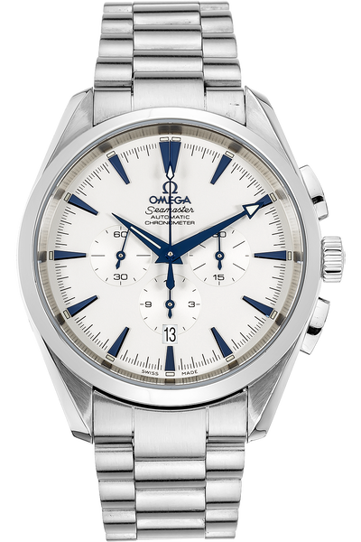 Stainless Steel Seamaster Aqua Terra Chronograph Automatic