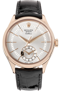 18K Rose Gold Cellini Dual Time Automatic