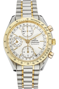 18K Yellow Gold and Stainless Steel Speedmaster Day-Date Automatic