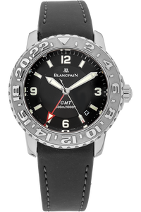Stainless Steel Fifty Fathoms Trilogy GMT Automatic