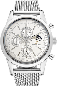 Stainless Steel Transocean Chronograph 1461 Automatic