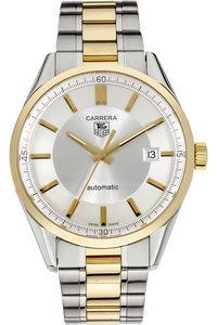 18K Yellow Gold and Stainless Steel Carrera Calibre 5 Automatic