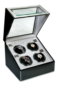 F3 Carbon Fibre Aluminum Quad Watch Winder