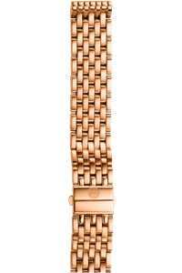 16MM Deco Rose Gold Bracelet