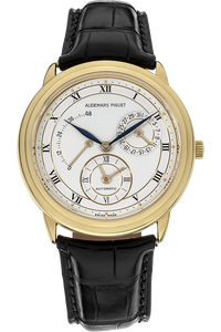 18K Yellow Gold Dual Time Automatic