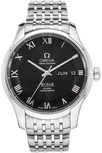Stainless Steel De Ville Co-Axial Annual Calendar Automatic