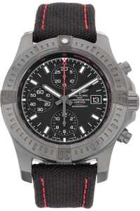 Black Steel Colt Chronograph Automatic Limited Edition