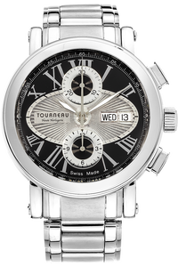 Gotham Classic Duograph Stainless Steel Automatic