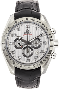 Stainless Steel Speedmaster Broad Arrow Co-Axial Automatic