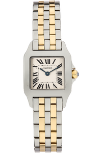 Santos Demoiselle Yellow Gold and Stainless Steel Quartz