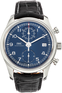 Stainless Steel Portuguese Chronograph Classic Laureus Limited Edition Automatic