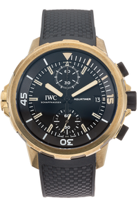 Bronze Aquatimer Chronograph Expedition Charles Darwin Automatic