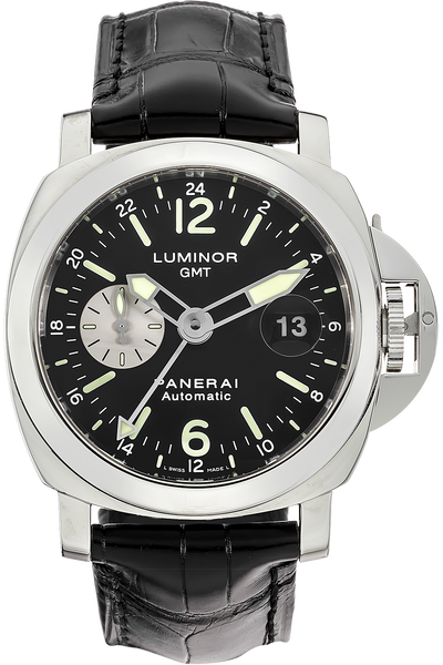 Stainless Steel Luminor GMT Automatic