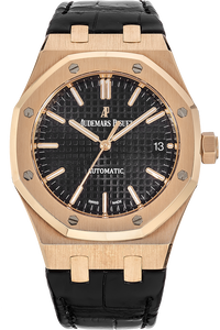 18K Rose Gold Royal Oak Automatic