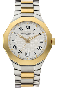 18K Yellow Gold and Stainless Steel Riviera Automatic